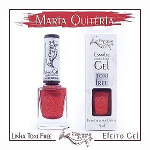 Esmalte Lafemme Efeito Gel Tox Free Hipoalergênico Maria Quiteria caixa  com 6