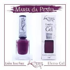 Esmalte Lafemme Efeito Gel Tox Free Hipoalergênico Maria da Penha caixa  com 6