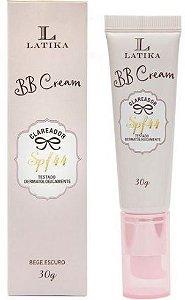 BB Cream Clareador SPF44 Latika 30g Bege Escuro - caixa com 10