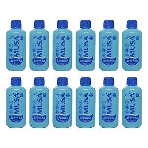 Solução a Base de Acetona com Queratina Musa - 100 ml - 12 unidades