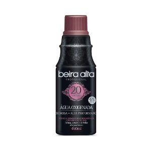 Agua Oxigenada Black 20 vol 450ml - 3 unidades