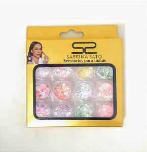 Glitter para encapsulamento Sabrina Satto - 3 unidades