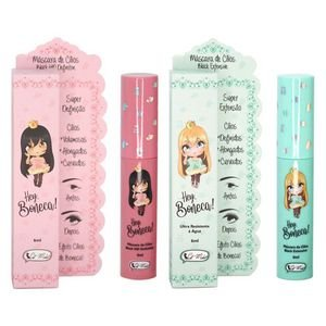 Hey Boneca Mascara De Cilios Cat Make - 3 unidades