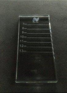 Paleta Porta Fileira De Cílios Em Vidro New AIr - 3 unidades