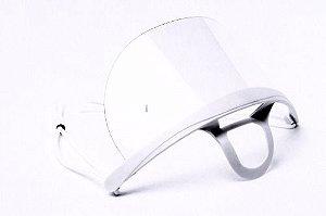 Máscara Higiênica Protetora Acrilica - 3 Unidades