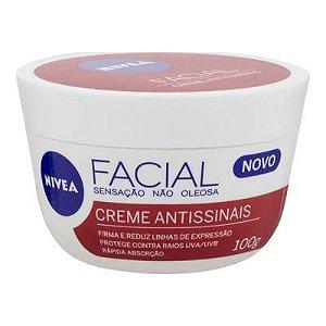 Nivea Facial Creme Antissinais 100g - 3 unidades