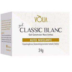 Vólia Gel Classic Blanc Secagem Ultra Rápida e Maior Rigidez Original 24gr - 3 Unidades