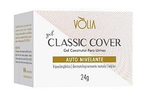 Vólia Gel Classic Cover Nail Auto Nivelante Gel Construtor de Unhas Led/uv Tom Ideal Para Maquiagem de Leito e Babyboomer e Color 24g - 3 Unidades