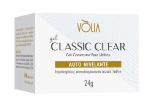 Vólia Gel Classic Clear Nail Auto Nivelante Led/uv O Gel Transparente Perfeito 24g - 3 Unidades