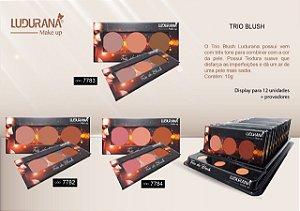 Trio blush 02 Ludurana - 3 unidades