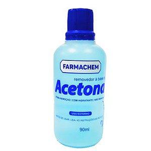 Acetona Dermachem 100 ml - 24 unidades