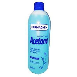 Acetona dermachem 500 ml caixa - 12 unidades