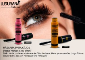 mascara para cilios Volume Extra Ludurana - 3 unidades