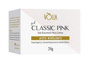 Vólia Gel Classic Pink Rosa Clássico 24g - Original - 3 Unidades