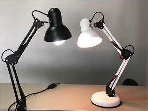 luminaria articulada - 3 unidades