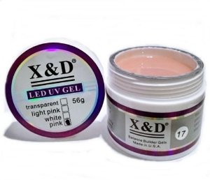 KIT COM 3 GEL X&D NUDE 17 15 g