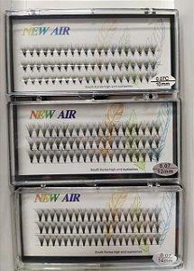 Cílios Postiços tufinhos 07 expessura 10,12 14 mm Caixa com 3