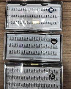 cilios tufinhos new Air com 60  10,12,15 ml  caixa com 3