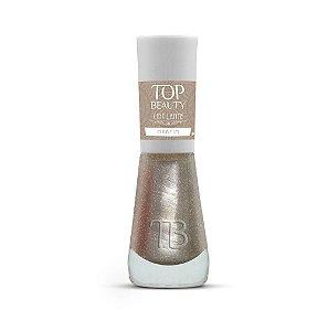 Esmalte Premium Cintilante Top Beauty 9ml Marfim - 6 Unidades