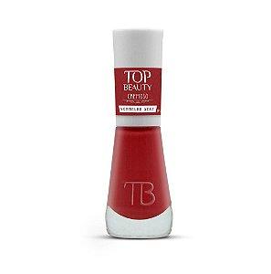 Esmalte Top beauty Vermelho Sexy - 6 unidades
