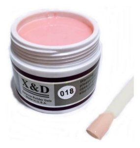 KIT COM 3 GEL X&D PINK 18 56g