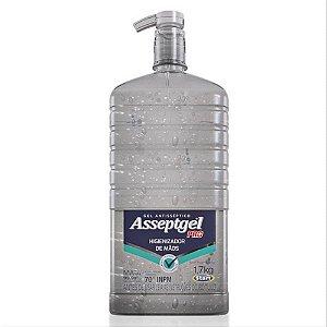 Alcool  Gel Gigante 1.700 kilos Ideal para industrias lojas e repartições- Caixa com 4 unidades de 1,700 kilos Start