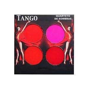 Quarteto de Sombras Matte Tango Ludurana 4g - 3 Unidades