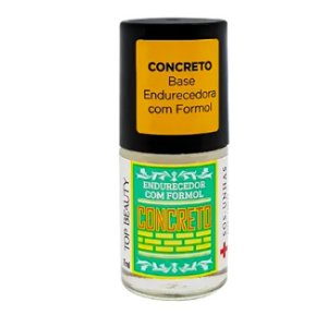 Base Concreto Endurecedor Formol Top Beauty Sos 7ml - 3 Unidades