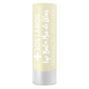LIP BALM MIX DE ÓLEOS - SOS LÁBIOS - TOP BEAUTY CAIXA COM 6