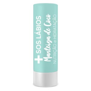 SOS labios manteiga de coco Top Beauty caixa com 6