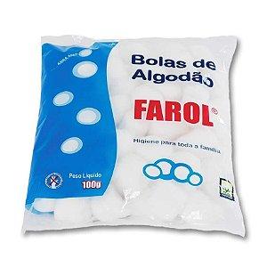 Algodão Farol Bolas 100G - Caixa com 3 unidades