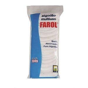 Algodão Farol Multiuso 100G - Caixa com 3 unidades