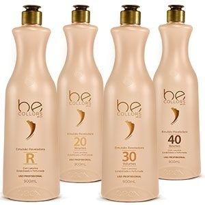 EMULSÃO REVELADORA BEOX- 1 l pH 3,0 VOLUME 30 - Caixa com 3 unidades