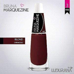 Esmalte Bruna Marquezine Cremoso Blod - Caixa com 6 unidades