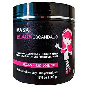 MASCARA BLACK MATIZADOR MASK MARIA ESCANDALOSA 500G