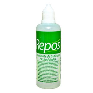 Amaciante de Cutícula e Calosidades Repós 120 ml Líquido - 3 Unidades
