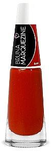 Esmalte Bruna Marquezine Cremoso Red - Caixa com 6 unidades
