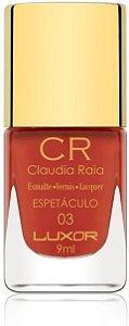 Esmalte Claudia Raia Espetáculo - Caixa com 6 unidades