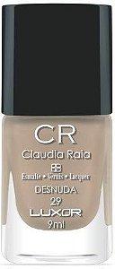 Esmalte Claudia Raia Nude Desnuda - Caixa com 6 unidades