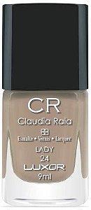 Esmalte Claudia Raia Nude Lady - Caixa com 6 unidades