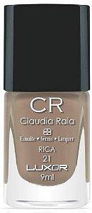 Esmalte Claudia Raia Nude Rica - Caixa com 6 unidades