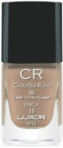 Esmalte Claudia Raia Nude Única - Caixa com 6 unidades