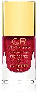 Esmalte Claudia Raia Red Peper - Caixa com 6 unidades