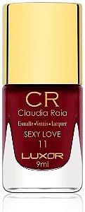 Esmalte Claudia Raia Sexy Love - Caixa com 6 unidades