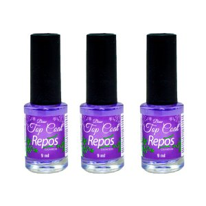 KIT COM 3 BASE TOP COAT REPÓS 9 ML