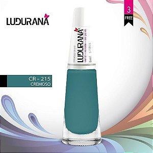 Esmalte ludurana 3 free Cremoso CR 215 - Caixa com 6 unidades