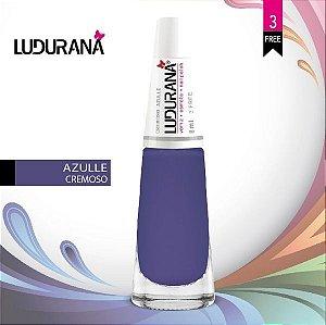 Esmalte ludurana 3 free Cremoso CR Azulle - Caixa com 6 unidades