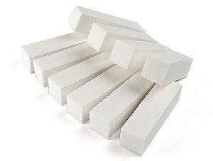Lixa Bloco Polidora Branco - 3 unidades