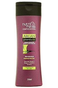 Nutri Minas Argan Premium Condicionador 350 ml (Embalagem com 3 unidades)