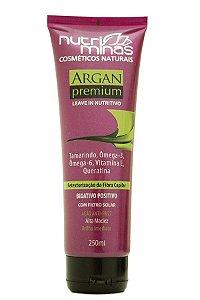 Nutri Minas Argan Premium Leave-in 250ml (Embalagem com 3 unidades)